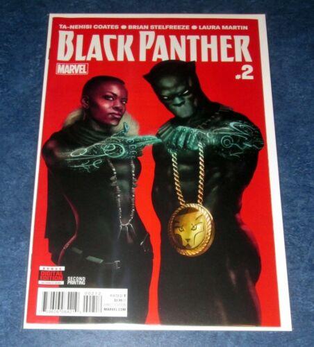 BLACK PANTHER #2 Rahzzah Run the Jewels VARIANT 2nd Print marvel comic MOVIE NM