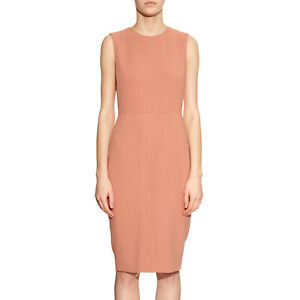 034b0edc6c0 MAX MARA Women s Bartolo Antique Rose Sheath Dress Sz 8  875 NWT ...