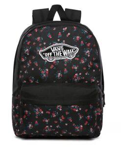 Vans Realm Backpack Beauty Floral Black