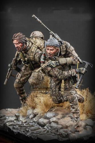 █ 75mm Resin US Soldiers 2 Kit Unpainted Unassembled 2992+2993