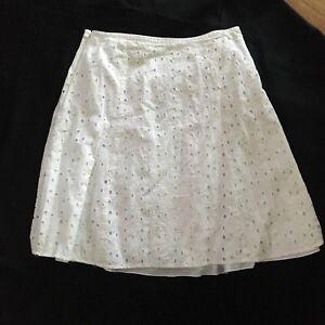 Etta-James-White-Eyelet-Skirt-Woman-039-s-16