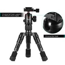 Compact Desktop Travel Tripod Kit with Ball Head for Canon Nikon DSLRs Cam V0R5