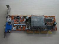 ASUS ATI Radeon 9200SE AGP 64MB DDR VGA/TV-Out Graphics video card TEST OK!
