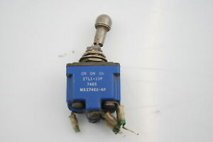 Honeywell MICRO SWITCH TL Series Toggle Switch MS27408-4A 15A 250VAC