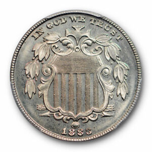 1883-5C-Shield-Nickel-PCGS-PR-66-Proof-High-Grade-Low-Mintage-Type-Coin