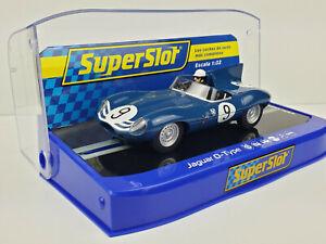 Slot Car Scalextric Superslot H3730 Jaguar D-Type #9 ...