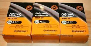 3-x-Continental-MTB-Inner-Tubes-26-x-1-75-2-5-SCHRADER-Mountain-Bike-26-Inch