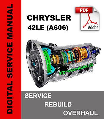 [SCHEMATICS_48IU]  42LE (A606) Transmission Service Repair Rebuild Manual for Chrysler | eBay | A606 42le Transmission Wiring Diagram |  | eBay