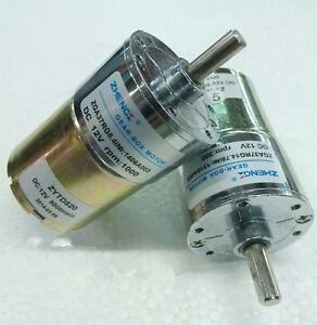 Details about ZGA37RG DIY robots DC 12V 1000RPM Electric Cylinder 6mm Dia  Shaft Gear Motor