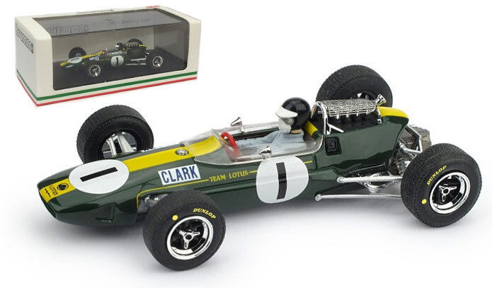 productos creativos Brumm Brumm Brumm R592-CH Lotus 33  1 Alemán GP 1965-Jim Clark campeón mundial escala 1 43  compras en linea