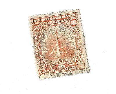 6 Briefmarken Aus Uruguay 141, 151, 716, 777, 777, 1017 Ab 1900