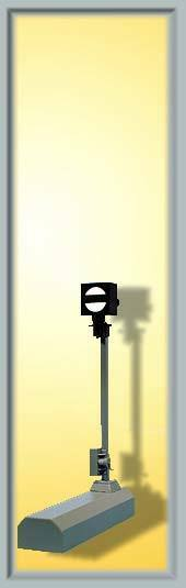 SH Viessmann 4717 Digital Form-Segnale Blocco Nuovo