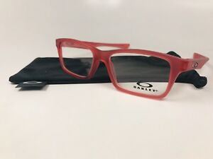eb32f06e253bf Image is loading New-Oakley-KIDS-OY8001-0748-Frosted-Red-Eyeglasses-