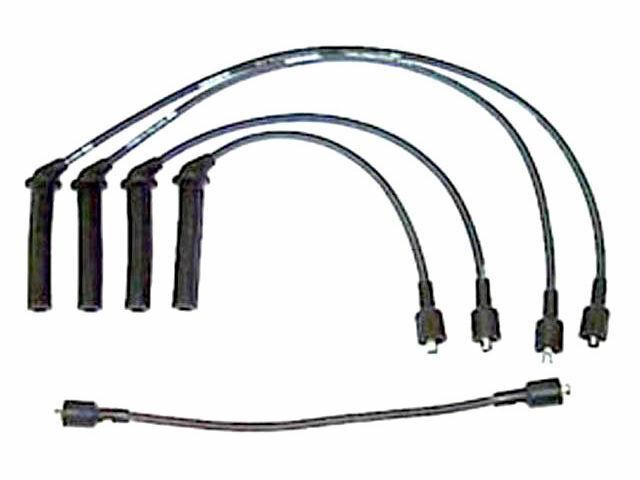 For 1994-1998 Saab 900 Spark Plug Wire Set Denso 75312FN ...