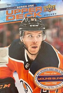 20-21 UPPER DECK SERIES 1 HOCKEY - COMPLETE BASE SET - #1-#200 FREE SHIPPING