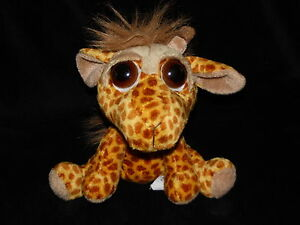 RUSS-LEDA-GIRAFFE-SOFT-TOY-SAD-EYES-COMFORTER-DOUDOU