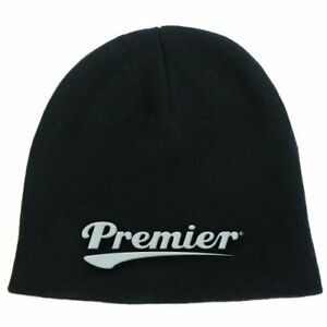 Premier Drums Beanie Hat Zuccotto Logo Official Merchandise