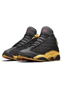 Details zu Nike Jordan 13 Retro Melo Eiche Hill Herren Größe 9.5 Schwarz Gelb Basketball