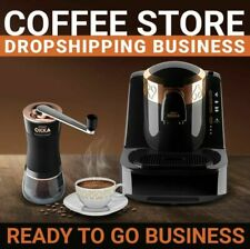 Premium Coffee Store Ultimate Profitable Business Dropshipping Website Ecommerce