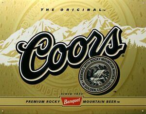 Coors-Label-beer-metal-sign-410mm-x-320mm-de