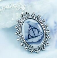 Deathly Hallows Necklace - Handmade Jewelry - Fantasy - Harry Potter - Magic