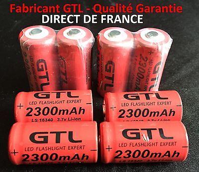 Das Beste 8 Batteries Akku Wiederaufladbar Cr123a 16340 3,7 V 2300mah Gtl Li-ion Batterie Verhindern Den Teint Zu Erhalten Dass Haare Vergrau Werden Und Helfen