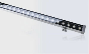 Details About 24w Led Wall Wash Light Outdoor Flood Lamp Linear Washer Lighting Bar New