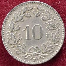 Switzerland 10 Rappen 1928 (B1002)