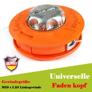 Fadenkopf-Maehkopf-Fadenspule-Motorsense-Maehfaden-Easy-Load-amp-Go-Freischneider