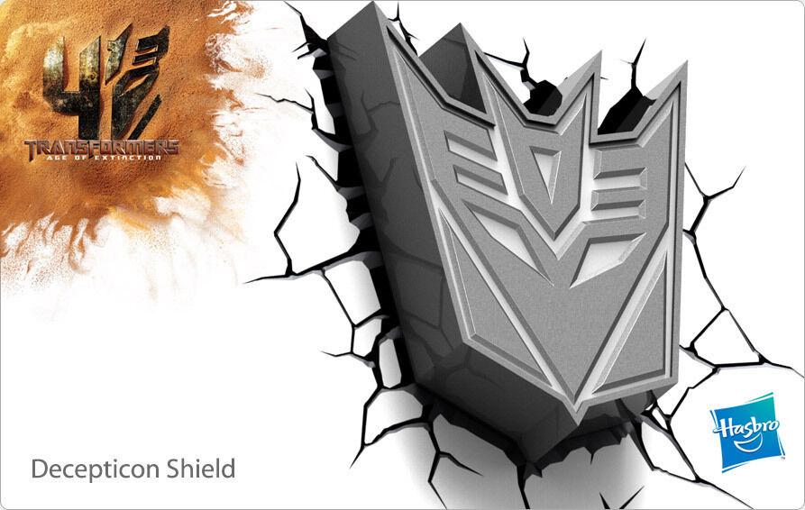Transformers Decepticon Shield 3D Deco Light
