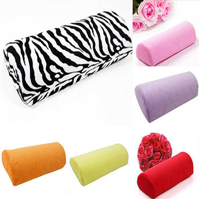 Hot Halfhand Cushion Rest Pillow Nail Art Design Manicure Care Salon Soft Column