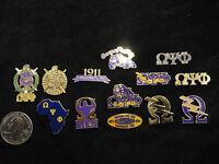 Omega Psi Phi Lapel Pins Various Designs Look At The Pics