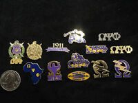 Omega Psi Phi Lapel Pins Various Designs Look At The Pics