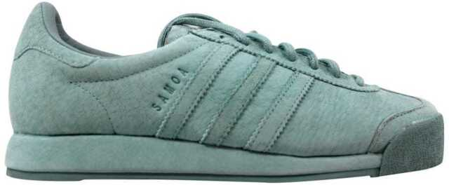 pretty nice 8e81c dbe64 Mens adidas Samoa Vintage Pig Skin Suede Tactile Green B39017 US 12