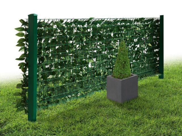 Garten Sichtschutz Kunstliche Hecke 3x1m Florabest