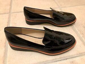 Ladies M \u0026 S Footglove Black Patent