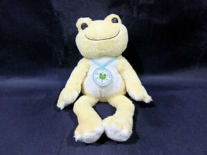 Pickles the Frog Plush Doll Light Bright Yellow Beanie Toy ...