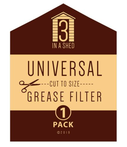 1 x Universal Paper Cooker Hood Grease  Filter with Saturation Indicator