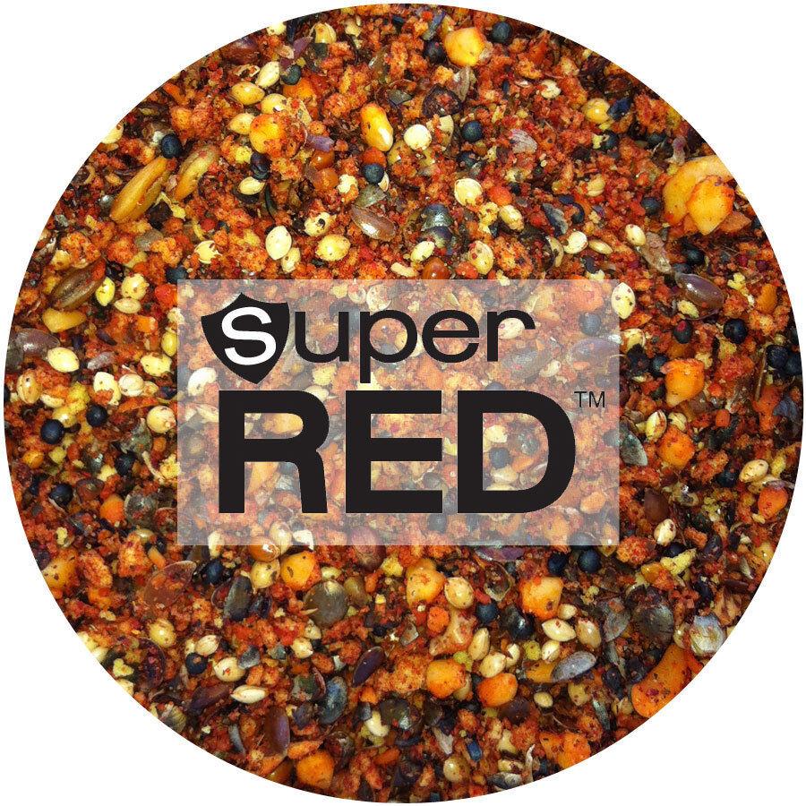 6,60 EURO   KG SUPERRED (haiths) 5KG SUPER red