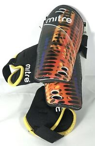 Mitre Aero speed Shin Guards green and yellow adult size 4/'8/'/' to 6/'2/'/'