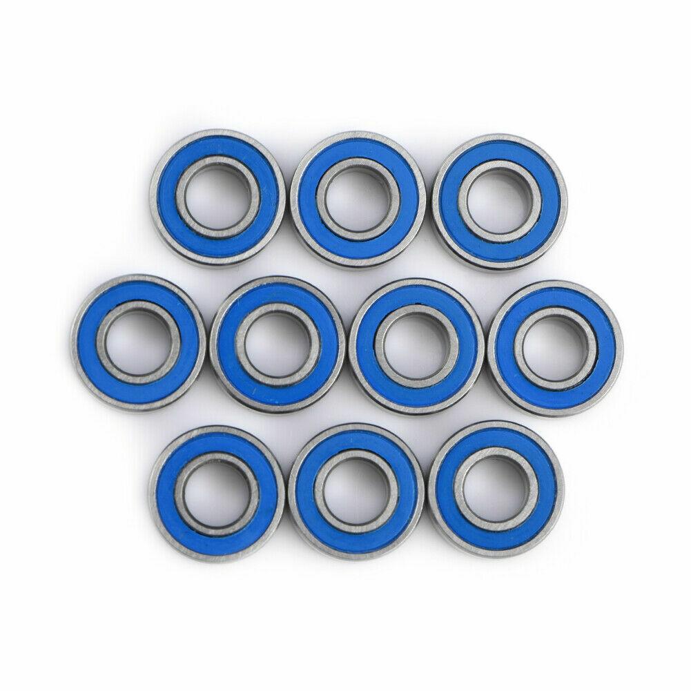 HOT 10Pcs MR115 2RS Ball Bearings For Traxxas Slash S6J9 Wheel S9R9 G6P5