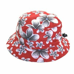 Unisex-Packable-Adjustable-Red-Bush-Hat-Great-for-Holidays-amp-Music-Festivals