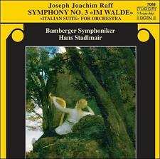 Joseph Joachim Raff: Symphony No. 3; Italian Suite, New Music