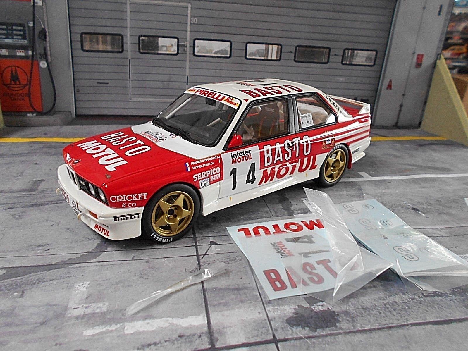 BMW m3 e30 Rallye Gr. A TOUR DE CORSE CORSE CORSE 1990 #14 Chatriot Bastos ot669 Otto 1:18 | Vendant Bien Partout Dans Le Monde  8ea021