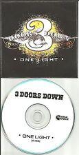 3 DOORS DOWN One Light 2012 TST PRESS PROMO Radio DJ CD single USA Three MINT