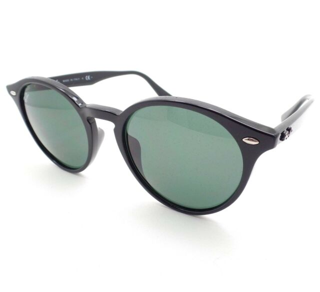 7fc5b68634 Ray-Ban Rb2180 601 71 Black Frame Green Classic 49mm Lens Sunglasses ...