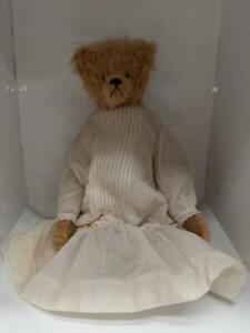 "Rare Vintage OOAK 15"" Mohair Teddy Bear by Artist Anita Louise 1990's"