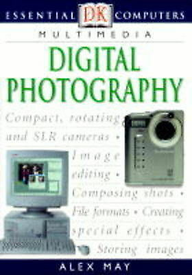 """""""AS NEW"""" Digital Photography (Essential Computers), May, Alex, Book"""