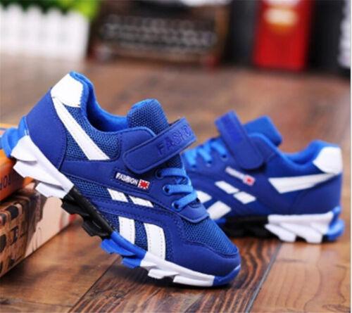 Children Boys Girls Sports Blade Shoes Nubuck Running Sneaker Kids Fashion