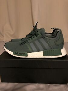 cf50d4b63 Adidas NMD R1 Originals Men s Shoes Size 9 Trace Green BY9692 Rare ...